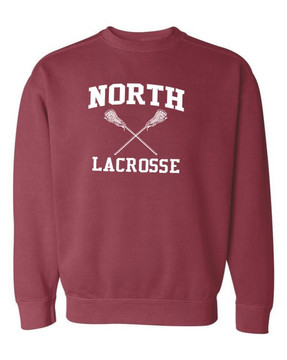 North MS Lacrosse Crewneck Sweatshirt