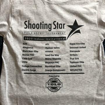 Shooting Star 2020 Indoor Invitational Short Sleeve Tee