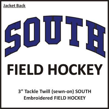 CB South Field Hockey Hooded Windbreaker