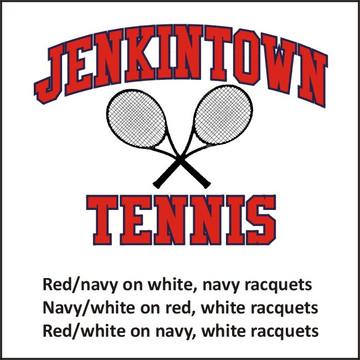 Jenkintown HS Tennis Cotton Tee