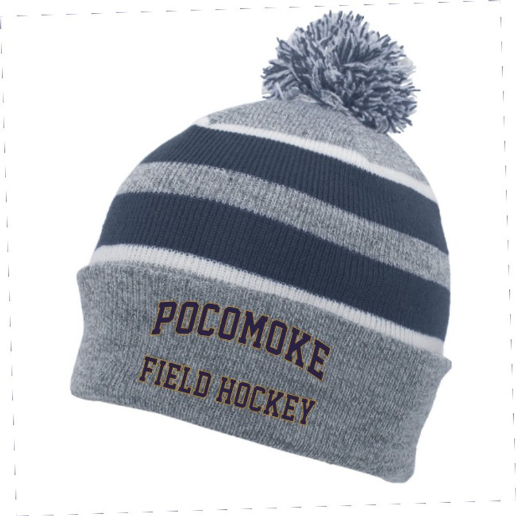 Pocomoke Field Hockey Winter Beanie