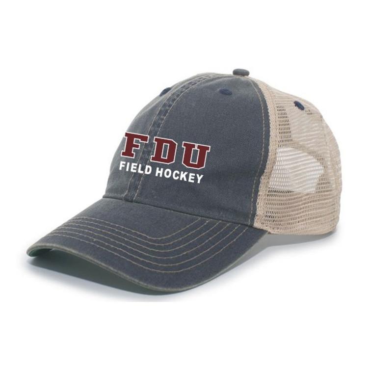 FDU Field Hockey Mesh Back Cap