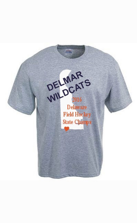 Delmar HS Field Hockey State Championship Cotton Tee