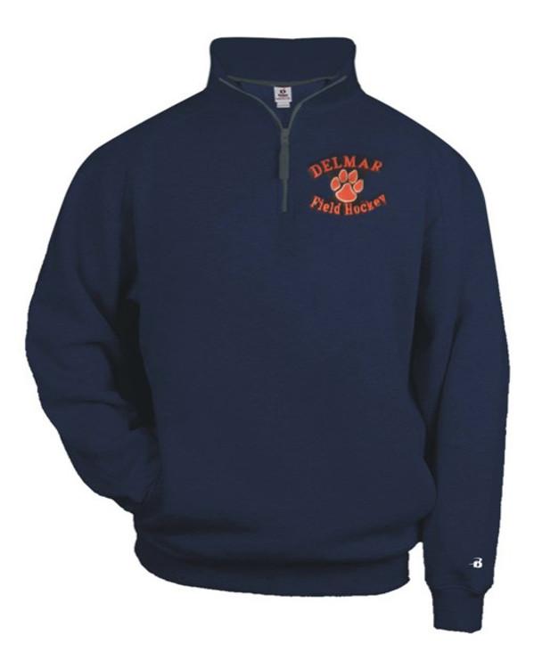 Delmar HS Field Hockey 1/4 Zip Sweatshirt