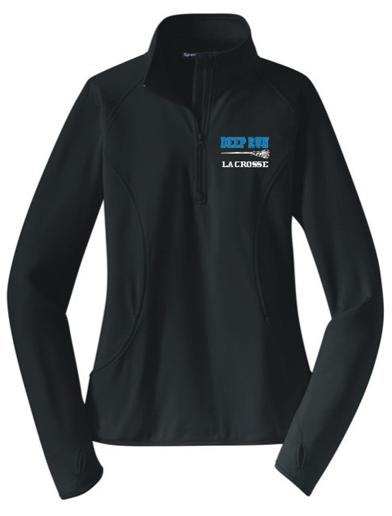 Deep Run Thunder Girls Lacrosse Performance 1/4 Zip