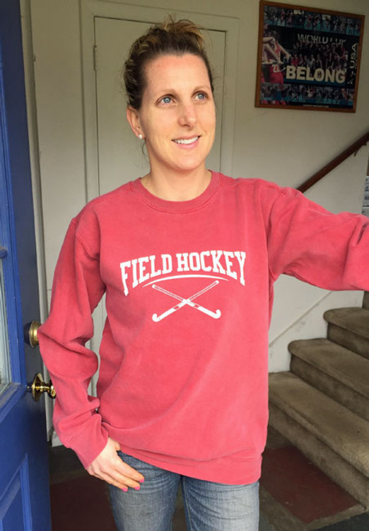 Field Hockey Crewneck Sweatshirt