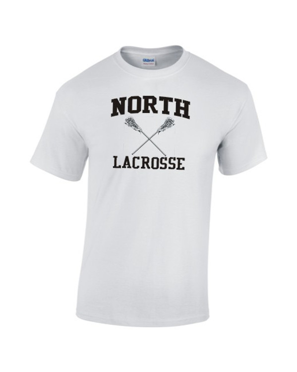 North MS Lacrosse Cotton Tee