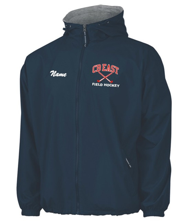CB East Field Hockey Hooded Full Zip Jacket