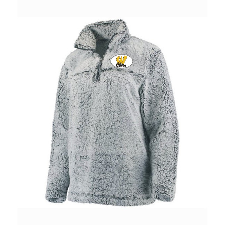 AB Wood Cheerleading Sherpa Pullover