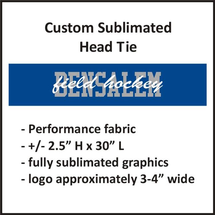 Bensalem Field Hockey Sublimated Head Tie