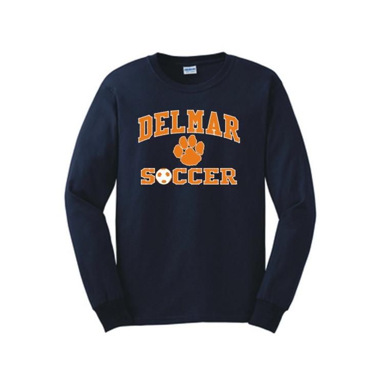 Delmar Soccer Long Sleeve Tee