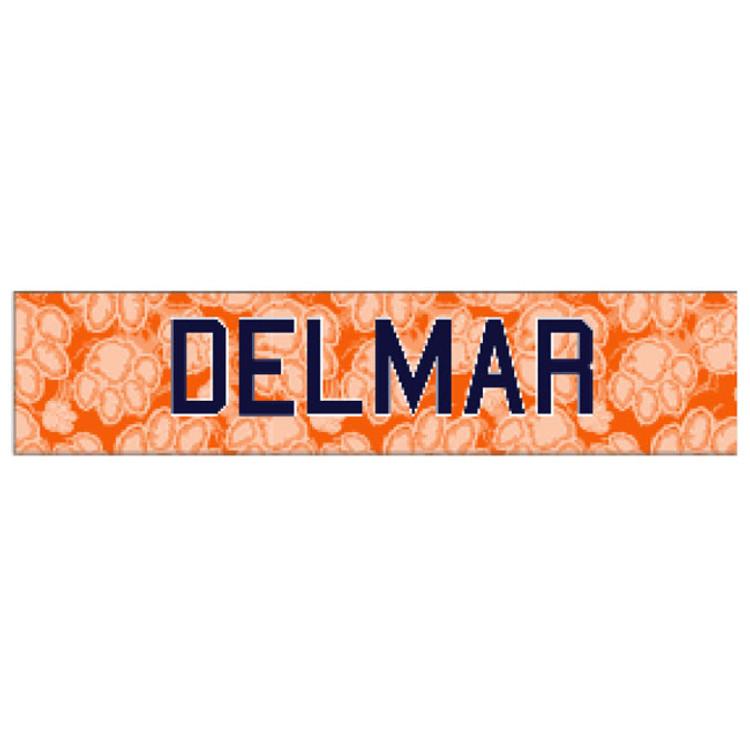 Delmar Soccer Sublimated Headband
