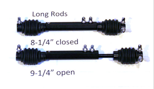 OffSet® LONG double pedal drive rod (one only)