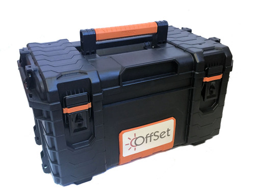 OffSet® bass drum pedal hard carrying case