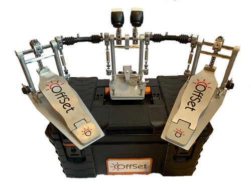 OffSet double bass drum pedal and hard case