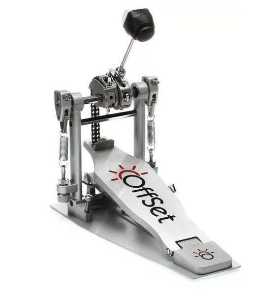 "OffSet® Sole Single Bass Drum Pedal, double spring ""Pro Series"""