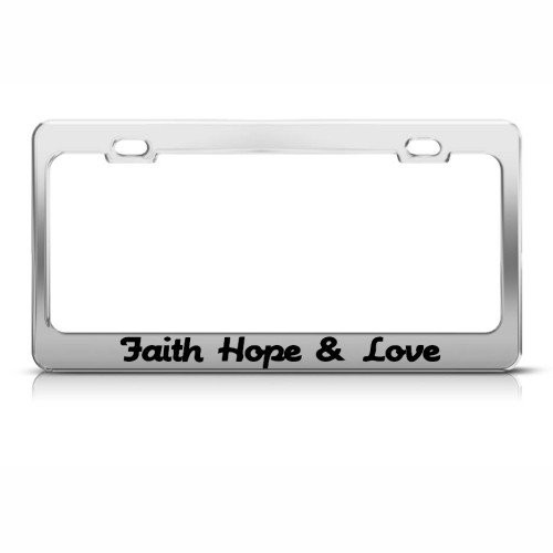 Product Design Pattern Font Faith Hope Love Frame Png Download