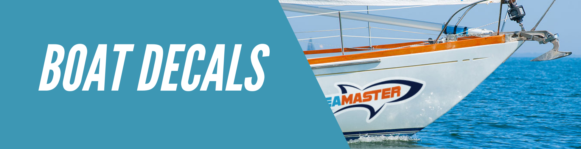 Custom Boat Decals, Lettering & Name - Speedy Pros Inc