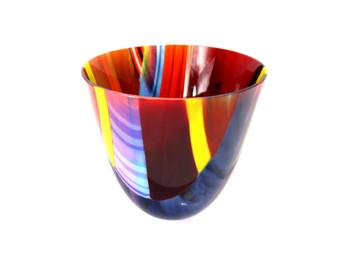 Decorative Glass Vase by Galiani Glass