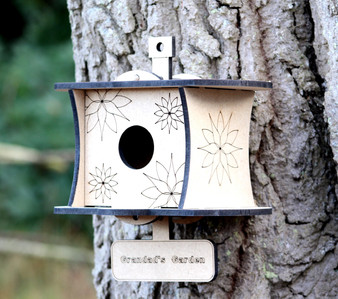 Barrow Wood - The Robin House  (with personalisation)