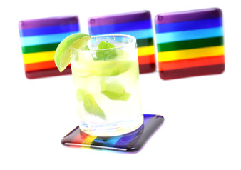 Rainbow Coaster Set