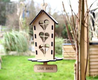 Barrow Wood  - The Lovebird House
