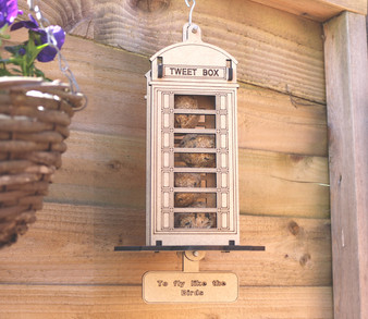 Barrow Wood  - The Tweet Box with personalisation