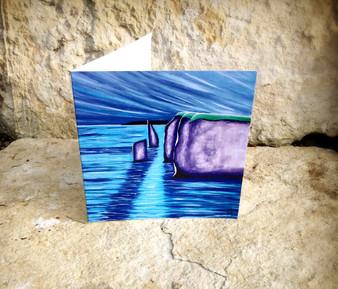 The Pinnacles  - Greeting Card