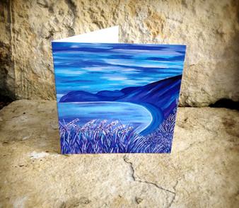 Worbarrow Bay - Greeting Card