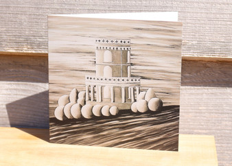 Clavell Tower - Greeting Card