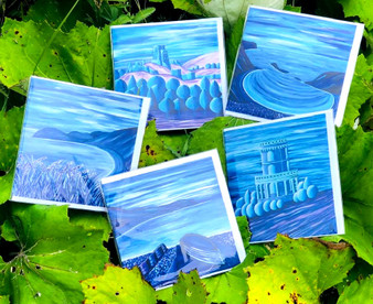 Selection of Greeting Cards by Esme James - Contemporary Artist