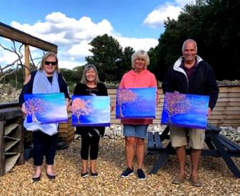 Grange Gallery Paint Class