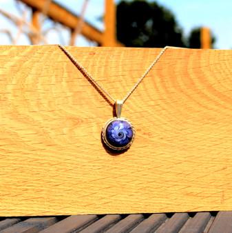 Petal Necklace by Galiani Glass