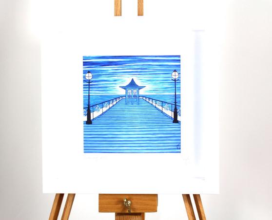 Swanage Pier Giclée Print