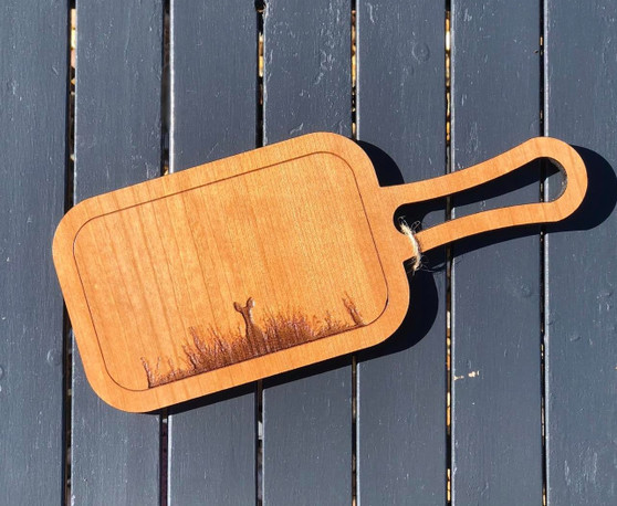 Cherry - Mini Serving Platter/ Chopping Board