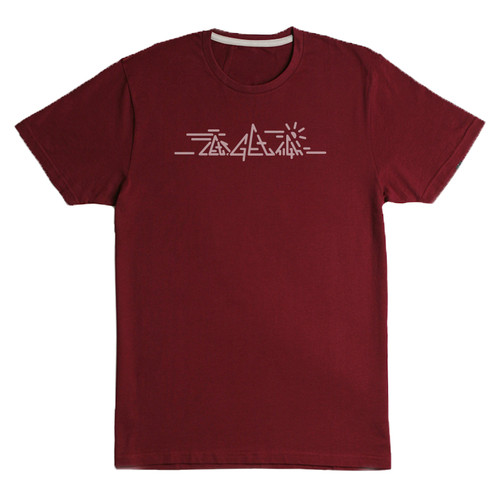 Nicros Tee Shirt - Red Let's Get High