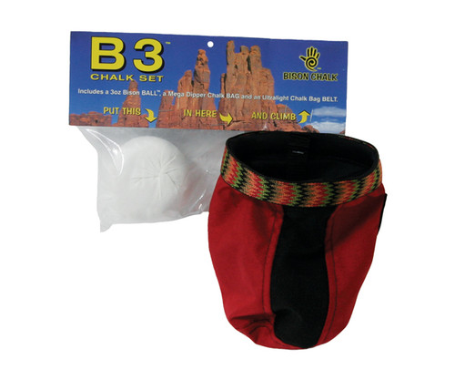 Bison B3™ - Chalk Bag, Belt & Chalk Ball