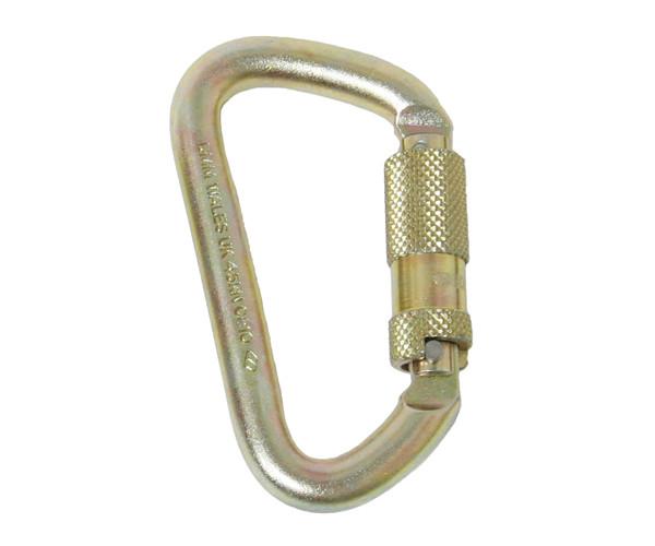 DMM Offset D Quicklock - Locking Carabiner