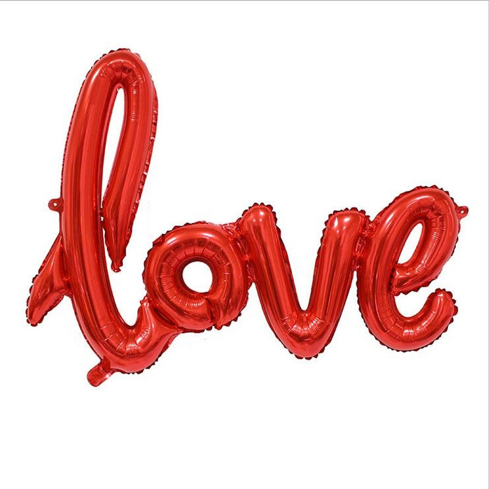 Balloons - Love in Red