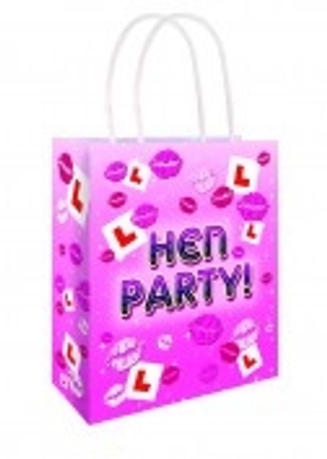 Hen Party L Plate Bag 22 X 18 X 8cm