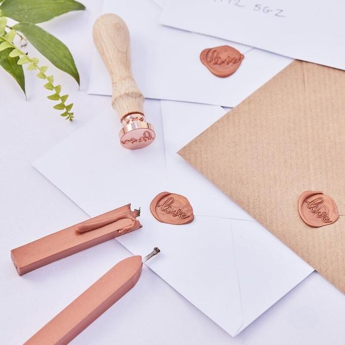 Wax Seal Wedding Invite Stamp