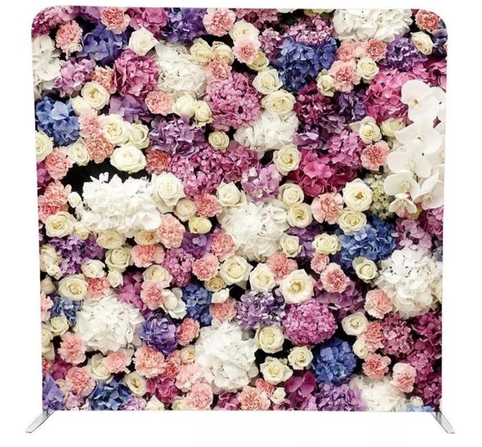 Photo backdrop Flower Wall Rental 90