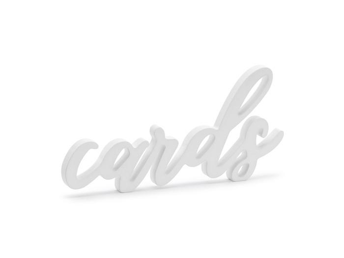 Wooden Inscription Cards
