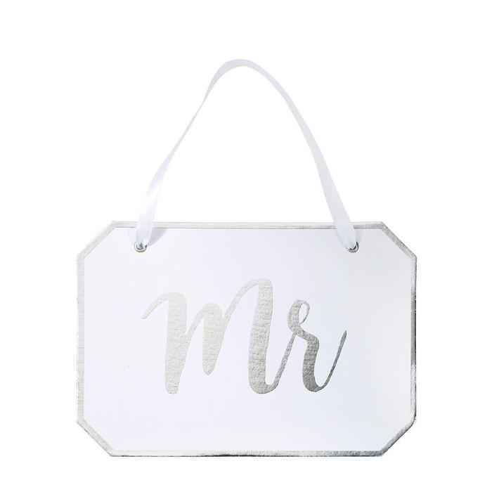 'Mr' Decorative Sign