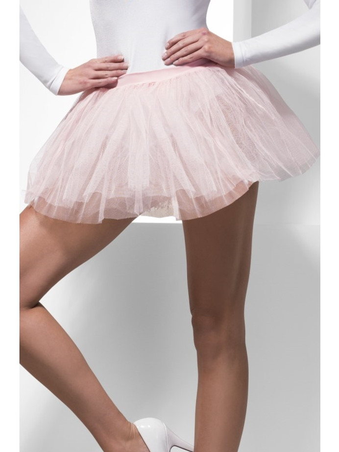 Tutu Underskirt, Pink, 4 Layers, 30cm Long