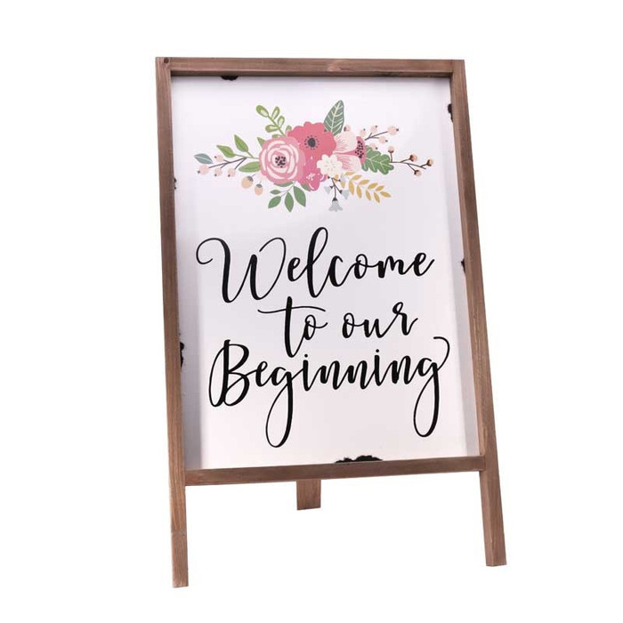 Welcome to our Beginning sign rental