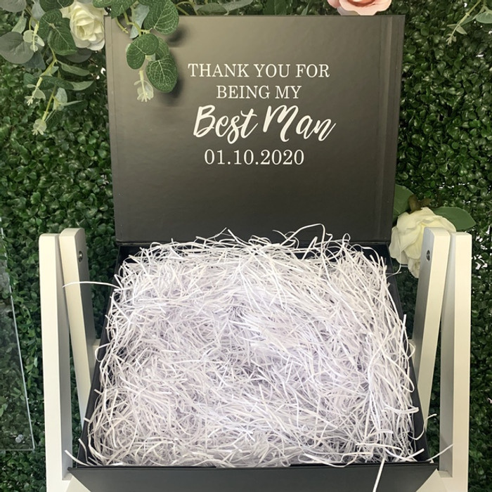 Personalised Bridal Box - Large Black