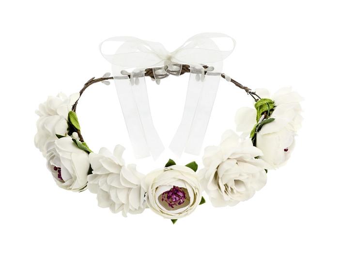 Flower Crown White, 17cm