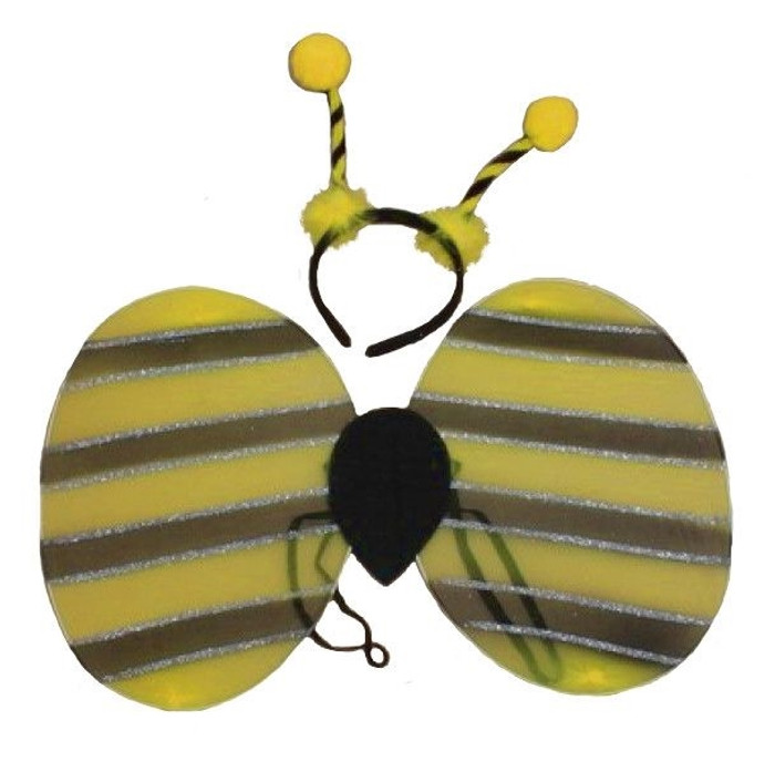 Bumble Bee set of Wings and Deeley Boppers