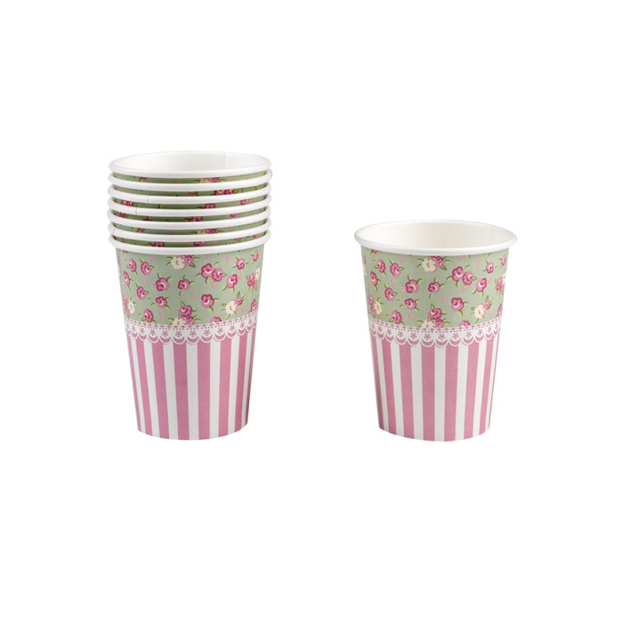 Frills and Spills Cups, 8 pack